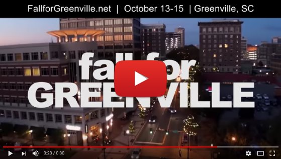 Fall for Greenville video