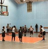 Recreation league basketball
