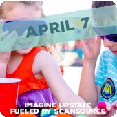 Imagine Upstate fueled by Scansource back April 7!