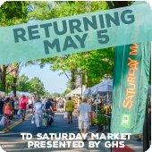 TD Saturday Market returning May 5!