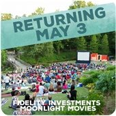 Fidelity Investments Moonlight Movies returning May 3