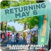 TD Saturday Market presented by GHS returning May 6