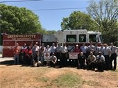 City of Greenville Fire Department in partnership with the American Red Cross install 155 smoke alarms in Pleasant Valley neighborhood.
